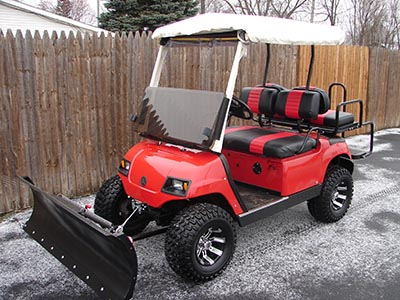 Plowman's Carts - Golf Cars - Golf Cars, Golf Carts and Utility on golf cart spare tire mount, golf cart spoiler, golf cart step plate, golf cart fire extinguisher, golf cart tachometer mount, golf cart brush guards, golf cart bug shield, golf cart skid plate, golf cart tie down, golf cart gps mount, golf cart roof rails, golf cart light kit, golf cart dog box, golf cart sun shade, golf cart bed liner, golf cart radio mount, golf cart switch, golf cart repair manual, golf cart scan tool, golf cart muffler,